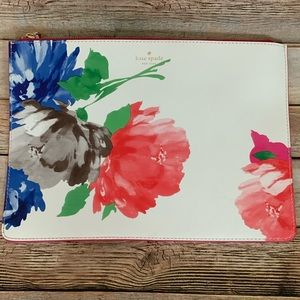 Kate spade Floral Clutch / Jetset bag